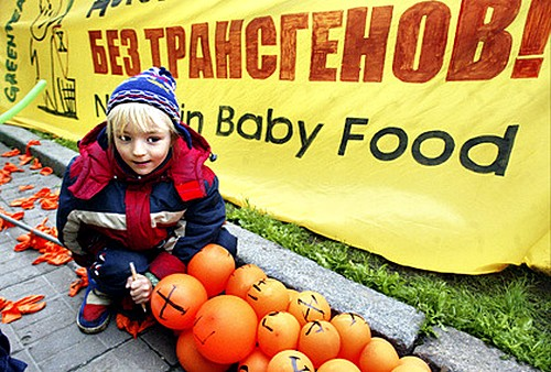 Страны требуют маркировки генетических продуктов