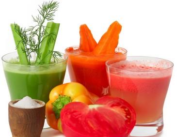 Лечение овощными и фруктовыми соками